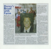 article in the local bulletin - 2010