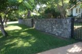 freestanding bluestone wall (2), corinda