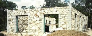 under construction - stone cottage, upper brookfield 001