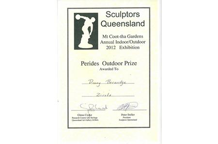 SCULPTORS QUEENSLAND – Mt Coo-tha Gardens Annual Indoor/Outdoor 2012 Exhibition