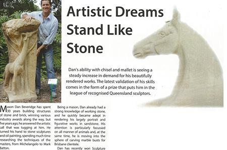 Artistic Dreams Stand Like Stone