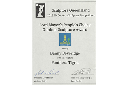 SCULPTORS QUEENSLAND – 	Mt Coo-tha Sculpture Competition